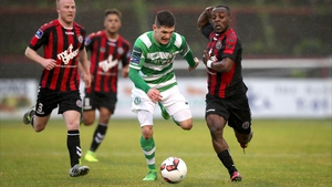 Shamrock Rovers won bragging rights in the Dublin Derby at Dalymount Park