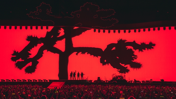 U2 rocked Seattle on Sunday night