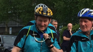 The Taoiseach is in Sligo today for a charity cycle