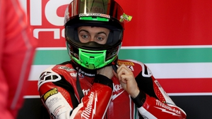 Eugene Laverty had qualified in sixth position