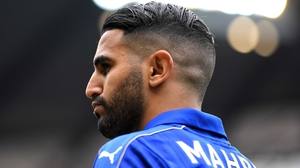 Mahrez had a down year after helping Leicester to the title