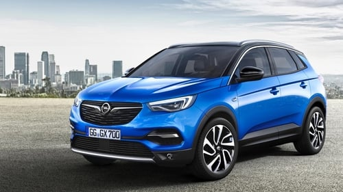 The Crossland X arrives next month.