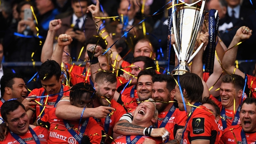 Saracens were 2017 Champions Cup winners