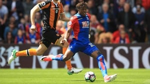 Wilfried Zaha set Palace on their way to victory