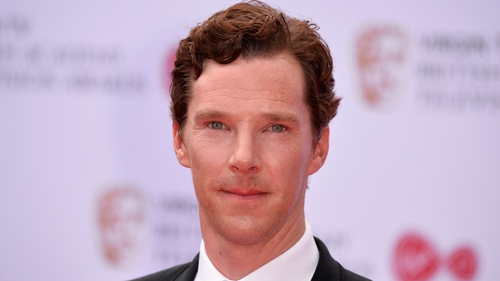 The Sherlock star said he feels honoured to be nominated