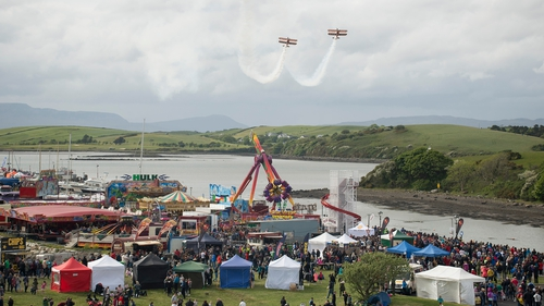 The Airshow featured aerobatics, displays and routines from Irish, British and European pilots (Pics: Michael McLaughlin)