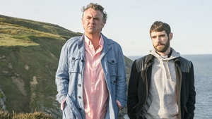 "Oisín Stack (r) with Shane Richie in Redwater - ""It's the very definition of cliffhanger"""