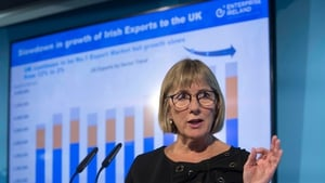 Julie Sinnamon, Enterprise Ireland CEO, said companies are going to have to adjust to a new trading scenario and a longer transition period would be useful to put those changes in place