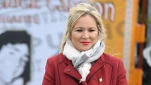Nominations for the vacancy close tomorrow and so far Michelle O'Neill is the only candidate