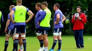 Rassie Erasmus watches over his Munster charges