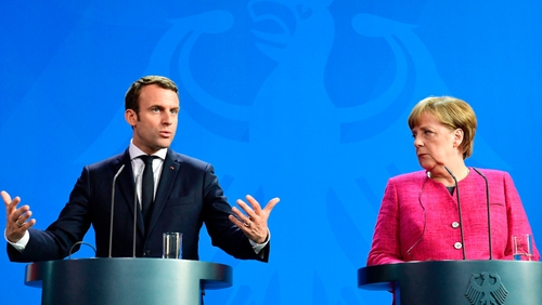 Macron, Merkel vow to give Europe a new impetus