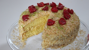 Rory O'Connell's Toasted Coconut and Lime Cake