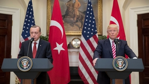 Donald Trump lauded Recep Tayyip Erdogan as an important ally in the 'fight against terrorism'