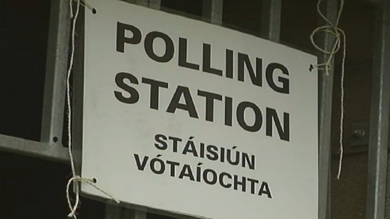 Polling Station Sign 2002
