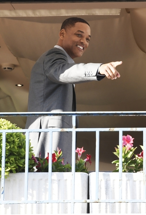 Day One - Wednesday May 17: Will Smith is a member of this year's jury and he has dressed for the occasion. The actor is all smiles in his sharp suit.