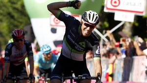 Omar Fraile took the 11th stage of the Giro d'Italia