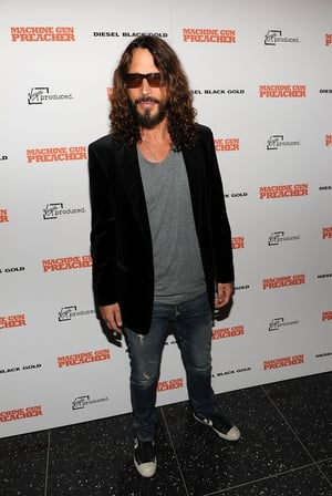 Attending the Diesel Black Gold Special Screening of 'Machine Gun Preacher' at MOMA in 2011. Chris was effortlessly cool at every event.