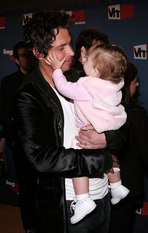 Family man Chris Cornell and his daughter Toni arrive to the VH1 Big In '05 Awards in 2005. A real rock star dad.