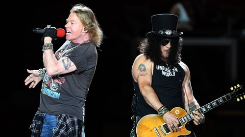 Guns N' Roses - Eighty-three-thousand people are expected at Slane Castle for their concert on May 27