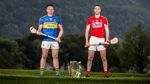 Padraic Maher of Tipperary and Cork's Stephen McDonnell will clash in Thurles this Sunday