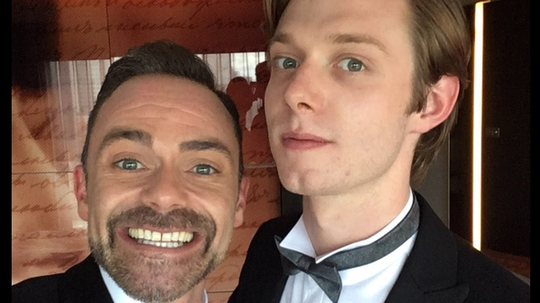 Coronation Street stars Daniel Brocklebank and Rob Mallard, image via Daniel Brocklebank/Twitter