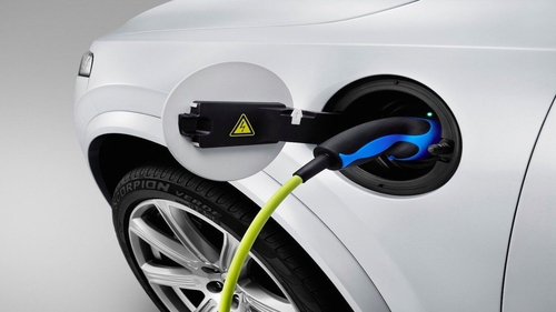 The climate change plan seeks to  have a million electric cars on Irish roads within 11 years.