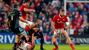 Jaco Taute will remain with Munster until June 2019