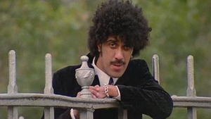 Phil Lynott in the iconic video for Old Town