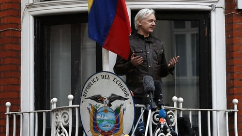 British police say Julian Assange could still be arrested for breaching bail conditions should he leave the embassy