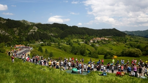 The stunning Reggio Emilia was the starting point for Friday's 13th stage
