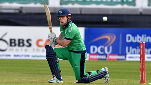 Ed Joyce hit 116 off 149 balls to ensure Ireland reached their target with four balls to spare.