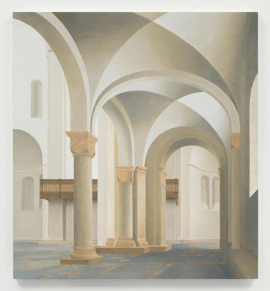 """Faith After Saenredam and Other Paintings"", an exhibition by Paul Winstanley"