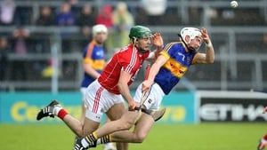 Christopher Joyce, left, and Brendan Maher in action during last year's Munster clash between Tipperary and Cork
