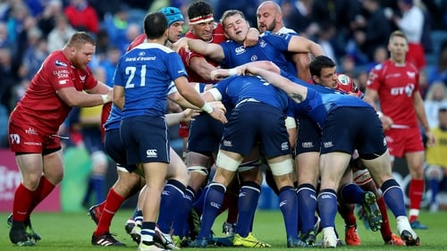 Leinster trail Scarlets at the RDS