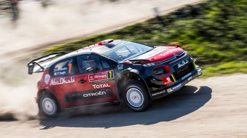 Ott Tanak leads the Rally of Portugal after hard opening day