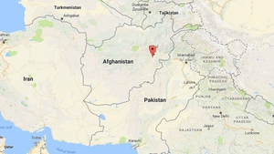 The attack occurred in the Mohammad Agha district of Logar province (Pic: Google Maps)
