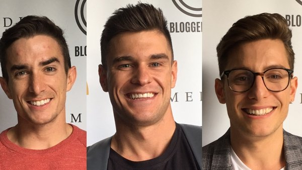 Influencers Maxx Chewning, Rob Lipsett and Riyadh Khalaf