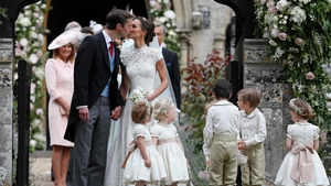 Pippa Middleton and James Matthews tied the knot on Saturday
