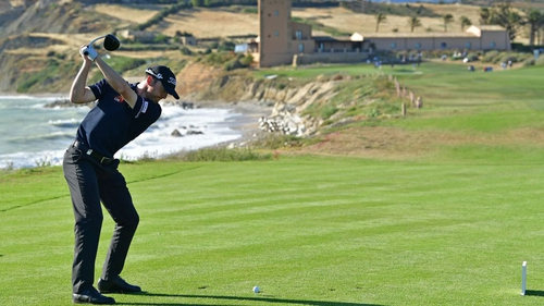 Quiros tops Lombard in playoff for Rocco Forte win