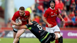 Rory Scannell makes his first start of the season for Munster