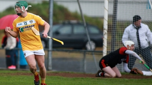 Conor Johnston scored two goals for Antrim