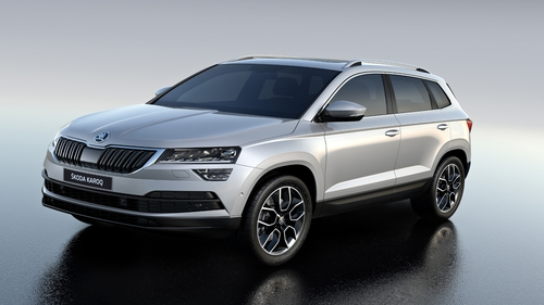 The Skoda Karoq is a smaller version of the bigger Kodiaq in almost every detail.