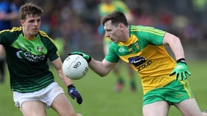 Jamie Brennan fired in Donegal's first goal