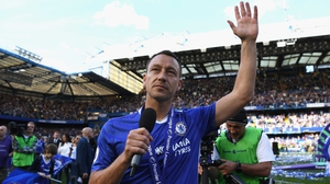 Terry left Stamford Bridge this summer