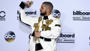 Drake beats Adele's Billboard record, taking home 13 gongs