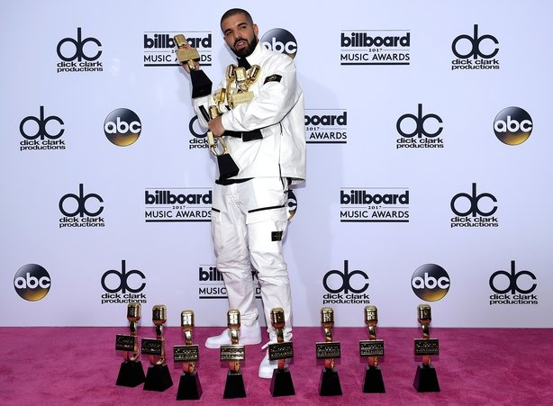 With 13 trophies, Drake dominates Billboard Music Awards
