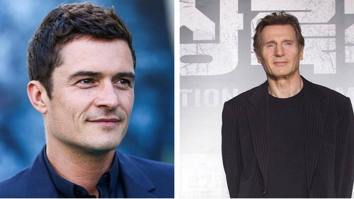 """Orlando Bloom - """"He knows how huge this is for me, watches out for me, like a surrogate dad figure and I remember him saying, 'Just stay you!"""""""
