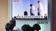North Korea conducted its latest missile test yesterday