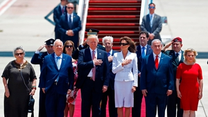 US President Donald Trump and First Lady Melania arrived in Israel today