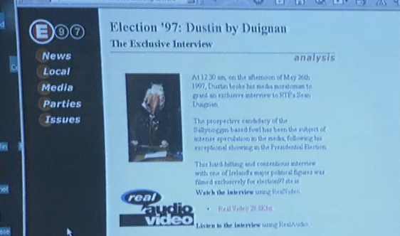 Election 97, Dustin